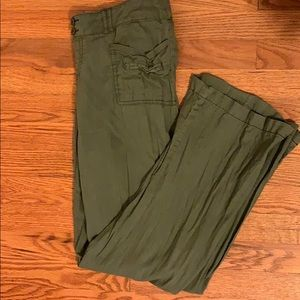 Olive casual pants